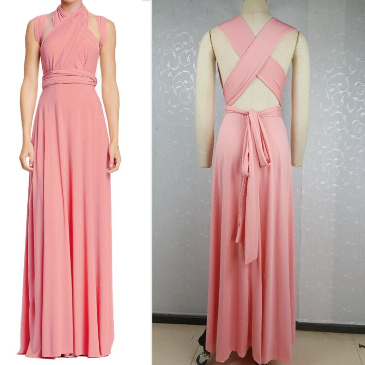 Belva 2017 New Convertible Wrap Gown Dress maternity gowns ...