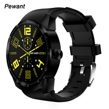 Men 3G GPS Smart Watch IOS Support Heart Rate Tracker Whatsapp Facebook Twitter Bluetooth Smartwatch Android Pk K98H KW98 KW88
