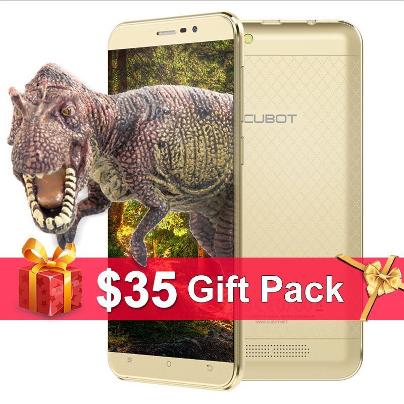Original Cubot Dinosaur font b Smartphone b font 5 5 IPS HD Android 6 0 MT6735A