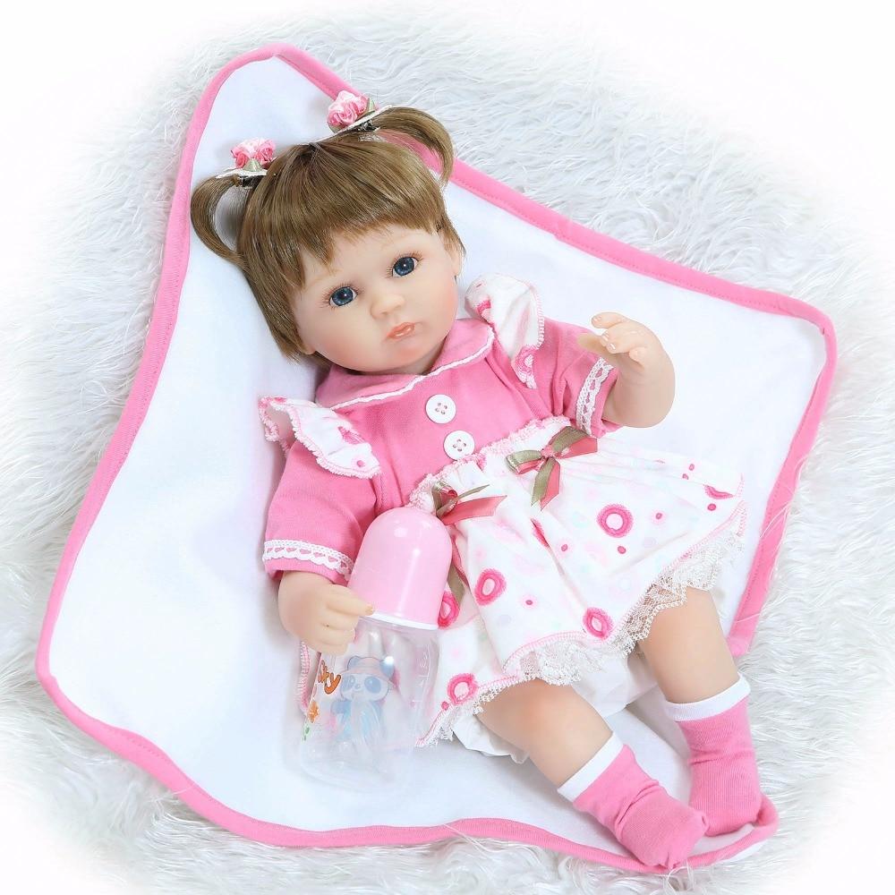 Lifelike Reborn Baby Doll Realistic Soft Silicone Reborn