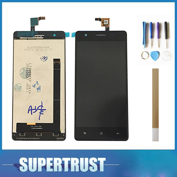 1PC/Lot For Cubot X16 S X16S LCD Display With Touch screen Digitizer Assembly Black Color with tools&tape