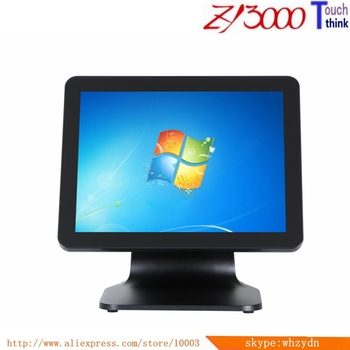 new stock  all in one 15 inch 4:3 capacitance pos system cash register touch screen pos pc  / epos system