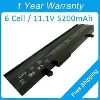 5200mah laptop battery for asus Eee PC 1015 1016 1215 1011 VX6 R051 1015B 1015T 1215T R051P 1215P AL31 1015 AL32 1015 PL32 1015