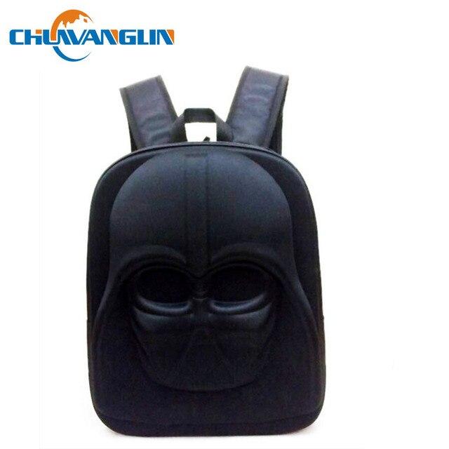 77b1c38e7640ae Chuwanglin Star Wars Stormtrooper Darth vader Helm 3D Gegoten Rugzak School  rugzak Reistas laptop tas LJY12191