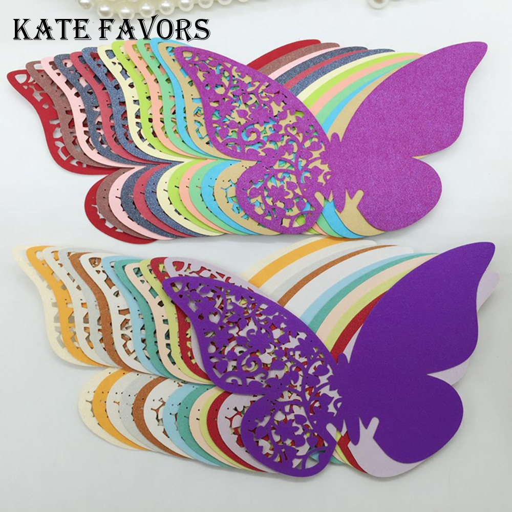 top 10 largest butterfly name place cards wedding party favor ideas and get  free shipping - a363