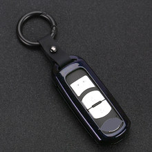 2019 Zinc Alloy Classic Mature Car Key Case Cover For Mazda CX-3 CX-4 CX-5 CX-7 CX-9 Atenza Axela MX5 Auto Key Shell Keychain цена и фото