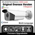 Oem ds-2cd2t42wd-i5 (4mm) inglés versión hikvision ip cámara de $ number mp cámara de red cámara cctv onvif p2p poe de seguridad cámara hik