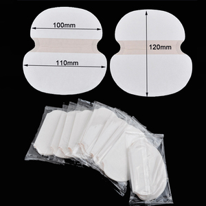 100X ( 50 Pairs ) Summer Deodorants Cotton Pads Underarm Armpit Sweat Pads Dress Disposable Stop Sweat Shield Guard Abs big size