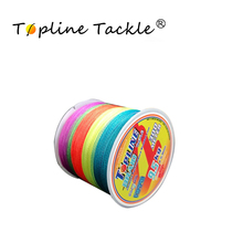 Topline Tackle 300m Braided Fishing Line 0.1mm 0.3mm Diameter PE 4 Strands Thread Smoother