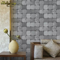 beibehang Gold foil anti yellow checkered retro metal sequins KTV wallpaper for walls 3d papel de parede papel parede wall paper
