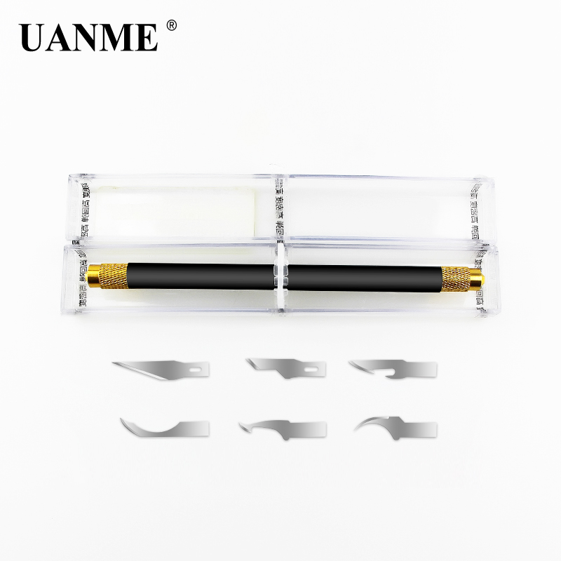 UANME CPU NAND Removal Graver Blade Glue Cleaning Pry Knife Phone Repair Tool For iPhone Motherboard RepairUANME CPU NAND Removal Graver Blade Glue Cleaning Pry Knife Phone Repair Tool For iPhone Motherboard Repair