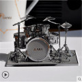 ICONX Drum Set P032S Toy 3D Puzzle DIY Piececool Metal Models, Puzzle 3D Metal Models Brinquedos, Kids Toys, Toys For Children