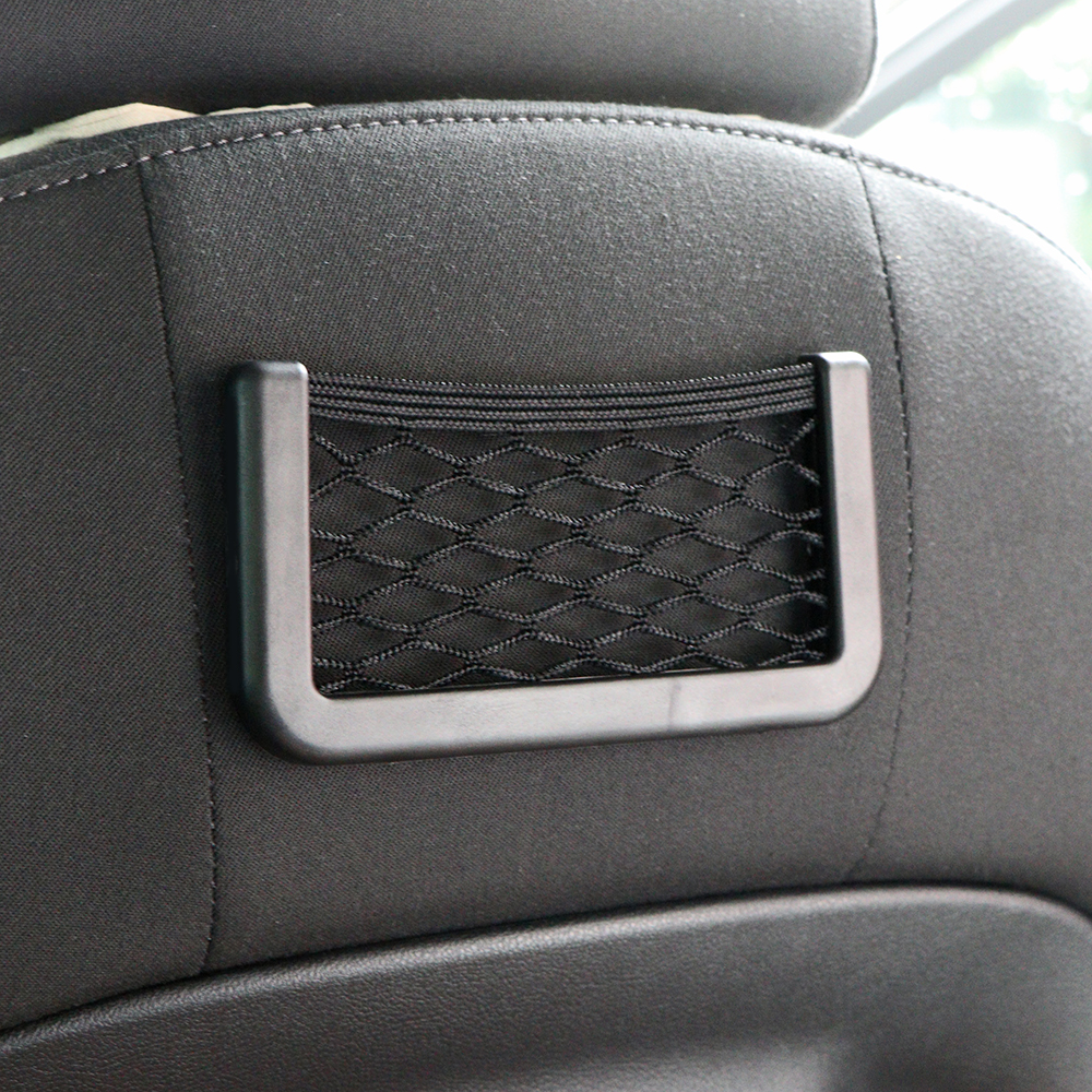 Symbol Of The Brand Box Storage Bag Mesh Net Car Styling Luggage Pocket Holder Car Trunk Sticker Trunk Organizer Stuff Travel Plastic Netting Chair Nets