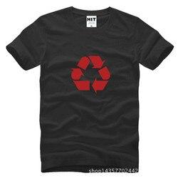 Le Big Bang théorie classique recyclage LOGO imprimé hommes T Shirt T-shirt 2015 nouveau O cou coton T-shirt T-shirt Camisetas Hombre
