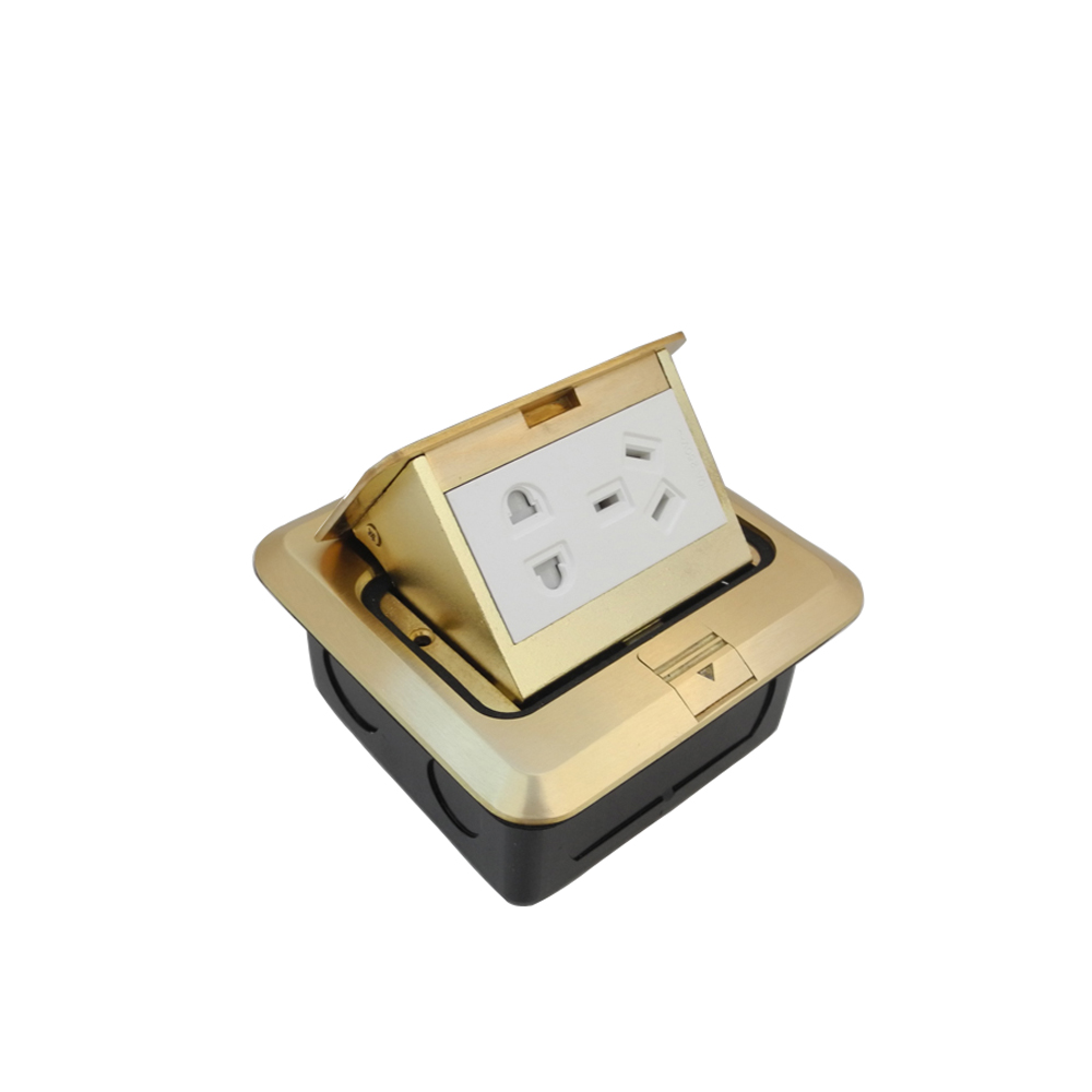 Pop up Retractable Floor Outlet Socket 9 Prong For Kitchen Office ...