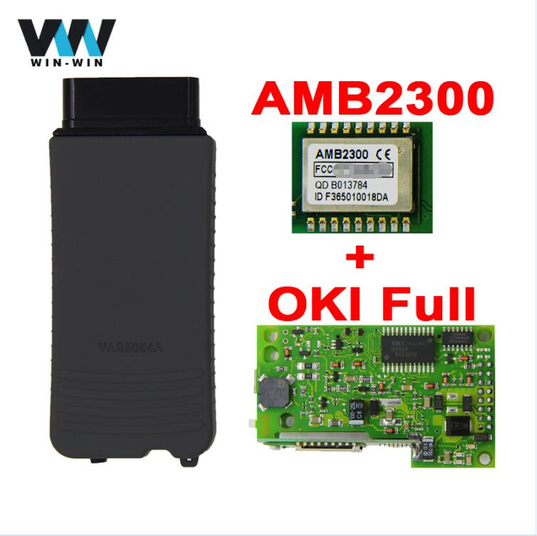 VAS 5054A ODIS V4.4.10 Full Chip OKI AMB2300 Bluetooth Adapter VAS5054A V4.3.3 Support UDS OBD OBD2 Car Diagnostic detector Tool-in Code Readers & Scan Tools from Automobiles & Motorcycles