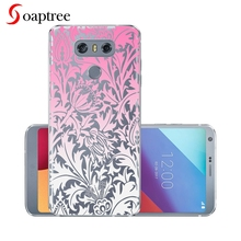 5.7 Silicone Coque For LG G6 Case Transparent Painted Cover For LG G 6 G6 Pro G6+ Case For LG H870 H871 H872 H873 LS993 Fundas аксессуар чехол brosco для lg g6 black lg g6 book black