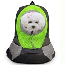 все цены на Outdoor Pet Dog Carrier Bag Pet Dog Front Bag New Out Double Shoulder Portable Travel Backpack Mesh Backpack Head Products