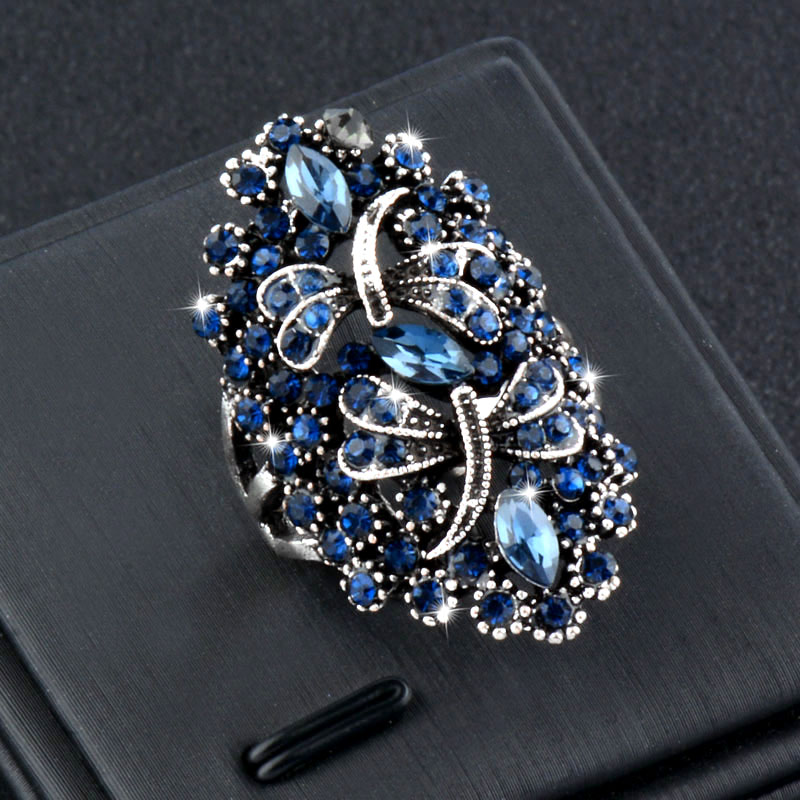 Fashion New Femmes Hommes Punk Elegant Glow in the Dark ouverture Finger Ring Jewelry
