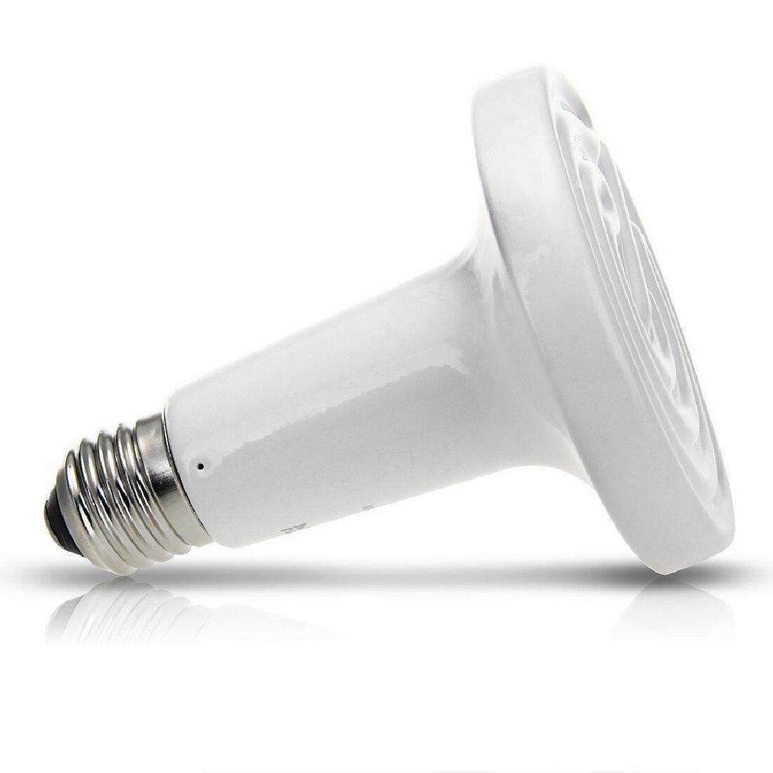 1 Stück Neue Weiß 50 Watt Hochwertige Keramik Heizstrahler Grübler Infrarot Lampe Supplement Die Vitalenergie Und NäHren Yin