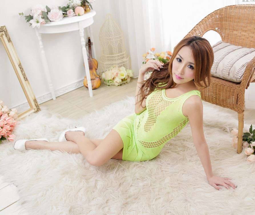 Wholesale Price 4pc lot Sexy lingerie jacquard Siamese net net new dress socks New product net suit 100511 in Lingerie Sets from Novelty Special Use