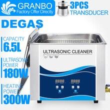 Цифровой ультразвуковой очиститель Granbo, 6 л, 6,5 л, с таймером для снятия нагрева, для мытья основной платы, лабораторные медицинские инструменты, цепь для клюшек и велосипедов
