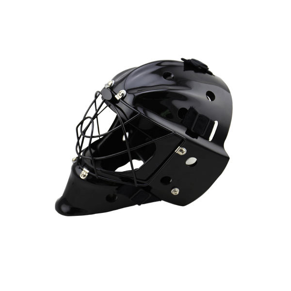 2018 GY Hot Sale Floorball Mask Street Hockey Helmet Black free shipping ce hecc csa approved new design ice hockey helmet hockey sport helmet with mask for adlut