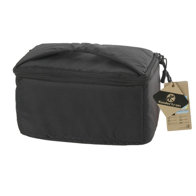 Koolertron 26 x 15 x 14 cm Polyester + Velvet Flexible Insert Partition Padded Bag Case for DSLR SLR Camera Lens Protective Case