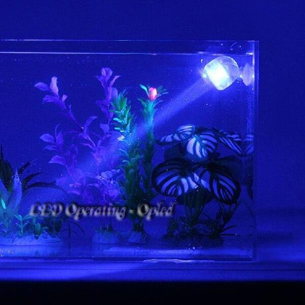 Waterproof LED Aquarium Light For Coral Reef Fish Tank - Submersible Spot Lamp  2