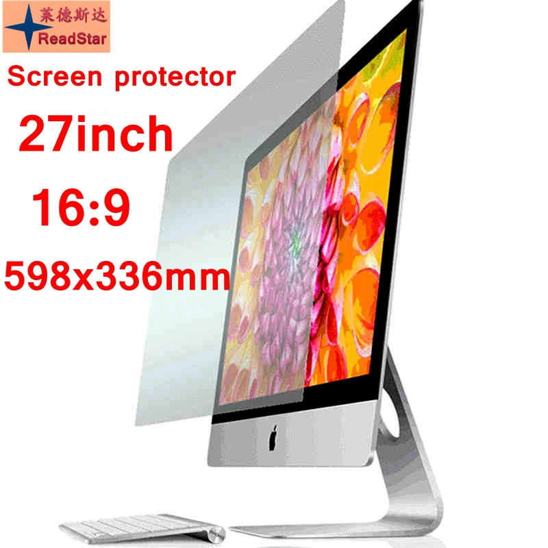 27 16 9 Wide Screen 598x336mm size Desktop computer Anti Blue ray Eye protection film screen