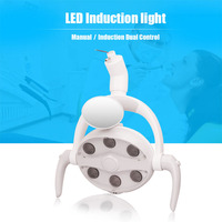 Dental Oral Lights LED Induction Lights Professional Dental Chair Lights Shadowless Lamps Dental Chair Accessories Free Shipping