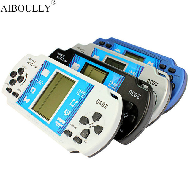 Portable Video games Classical Handheld Game Players Tetris game consoles for Kids, High Quality Children Educational Toys