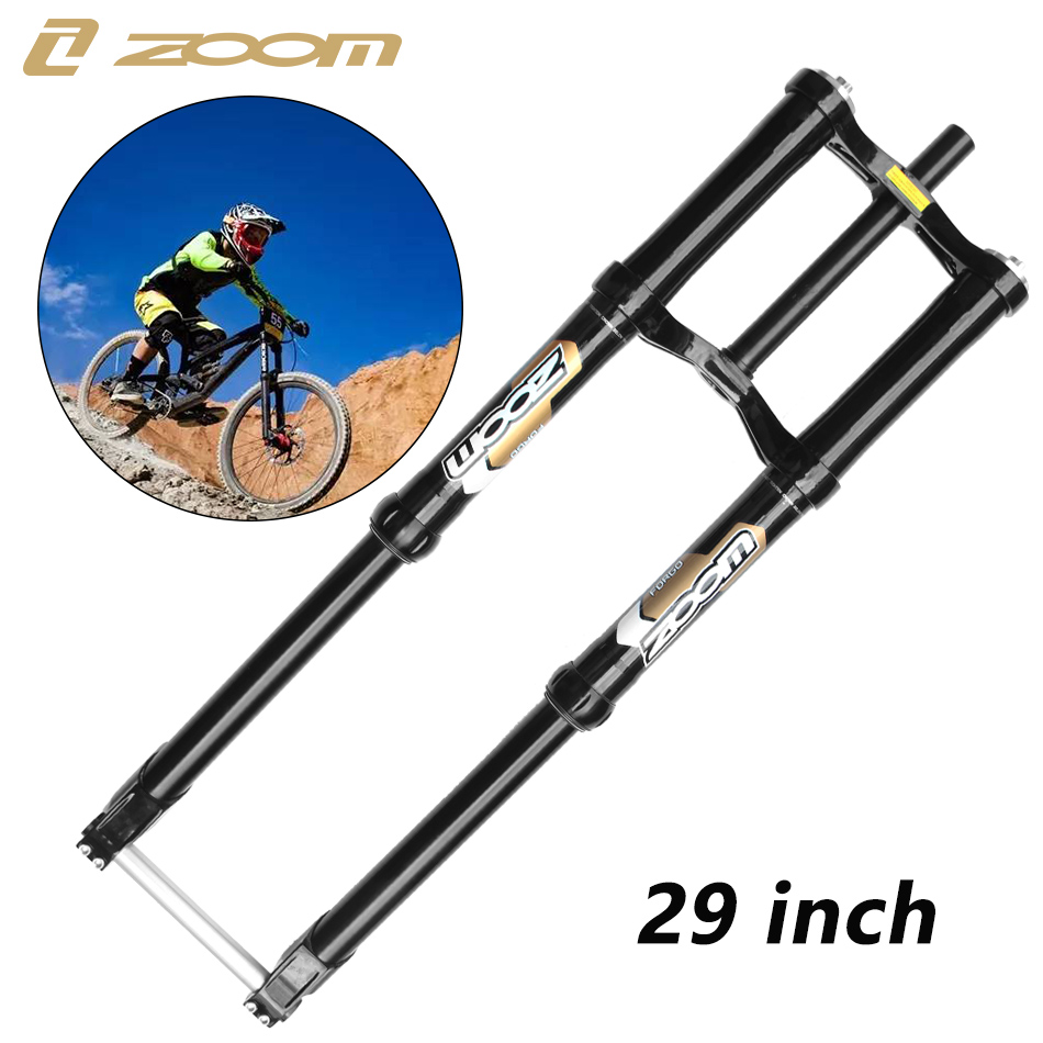 ZOOM 1200DH FR Fork front bicycle suspension 29 inch travel fork 240mm Downhill MTB bike Front ForkZOOM 1200DH FR Fork front bicycle suspension 29 inch travel fork 240mm Downhill MTB bike Front Fork