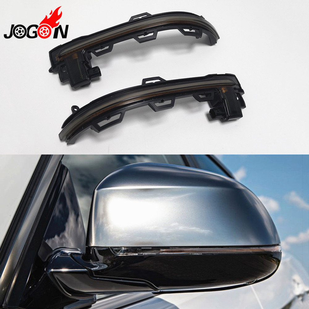 Side Rearview Mirror Indicator Blinker Light Sequential Dynamic Turn Signal For BMW X3 X4 X5 X6