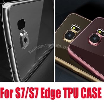 200pcs/lot DHL Free Ultra-thin transparent Soft TPU case For Samsung GALAXY S7 G9300 Protect camera cover for GALAXY S7 edge фото