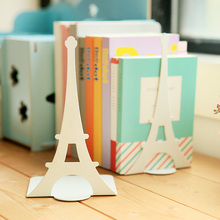 Korea stationery tinsheet bookshelf bookend book end book file single