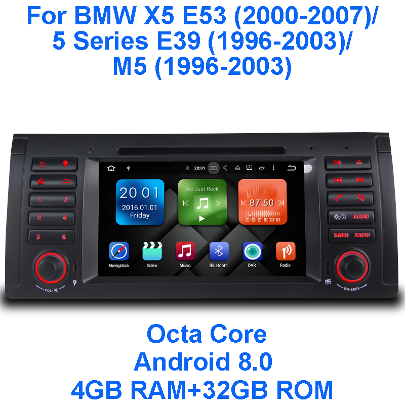 Android 8.0 Octa base 4G RAM 32G ROM GPS Navigation 7
