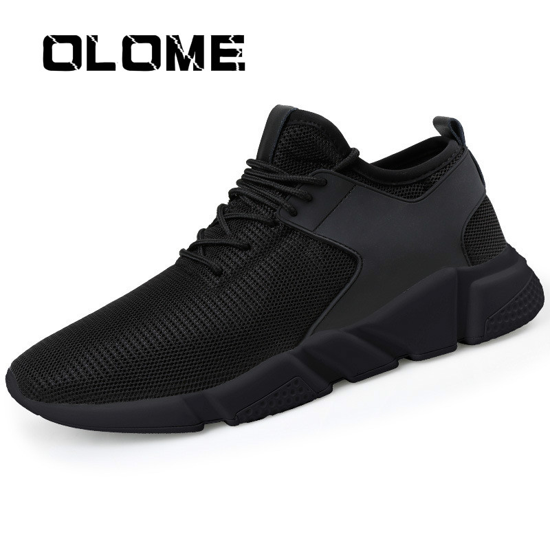 OLOME Men Sneakers Casual Shoes Men New 2019 Lace-up Spring Autumn Fashion Breathable Comfortable Male Footwear Zapatos Hombre