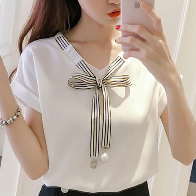 2019 Cool Mujer Tops y blusas blusa Chiffon señoras estilo