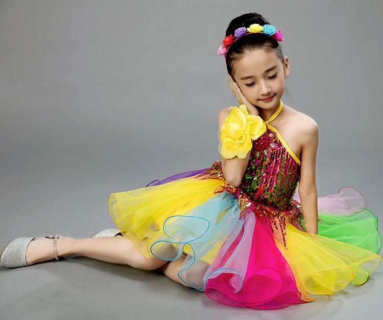 Балетное платье для девочек; детские танцевальные костюмы с блестками для девочек; балетная пачка для девочек; танцевальная одежда для сцены