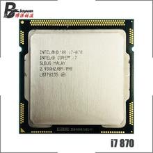 Intel Core i7 870 i7 870 2.9 GHz Quad Core CPU Processor 8M 95W LGA 1156
