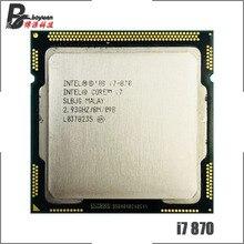 إنتل كور i7 870 i7 870 2.9 GHz رباعية النواة معالج وحدة المعالجة المركزية 8M 95 واط LGA 1156