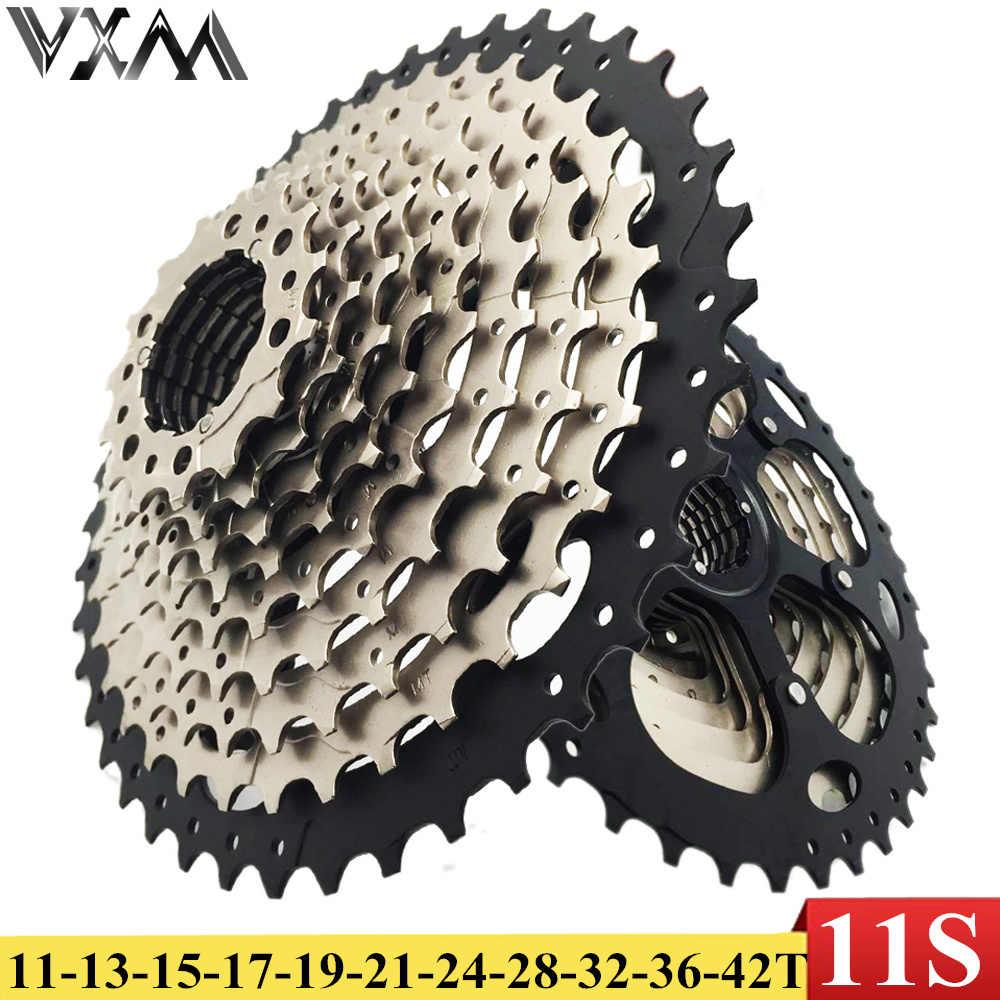Велосипед vxm маховик 11 S 11-42 т кассета MTB велосипед кассеты свободного хода маховое колесо для SRAM Shimano XT R XT SLX M7000 M8000 M9000
