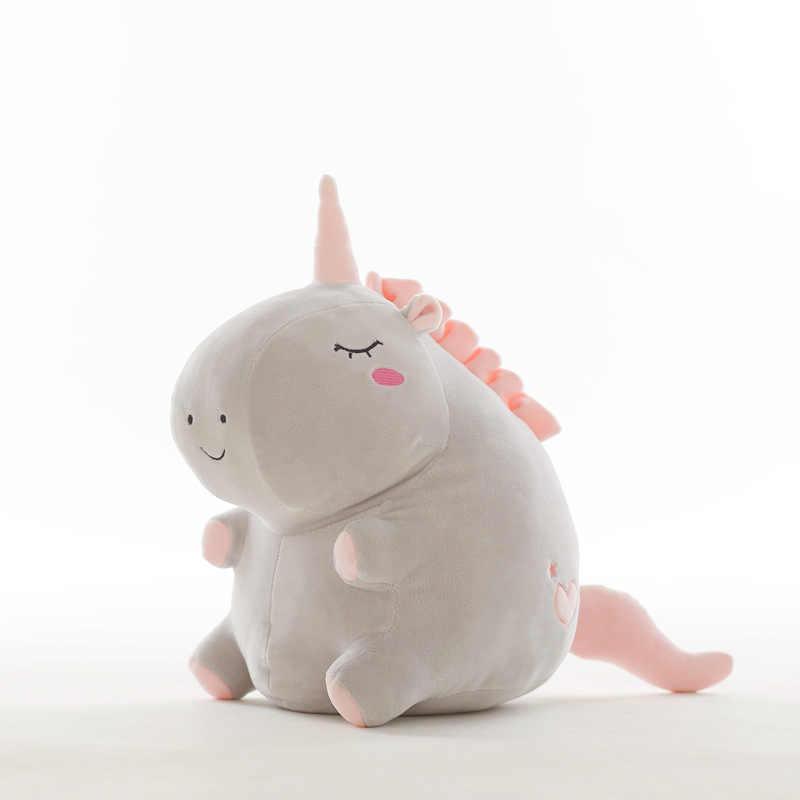 25 см милый единорог плюшевые игрушки куклы Мягкие и плюшевые детские игрушки в виде животных ребенок длу улучшения сна игрушки для детей студентов подарки на день рождения