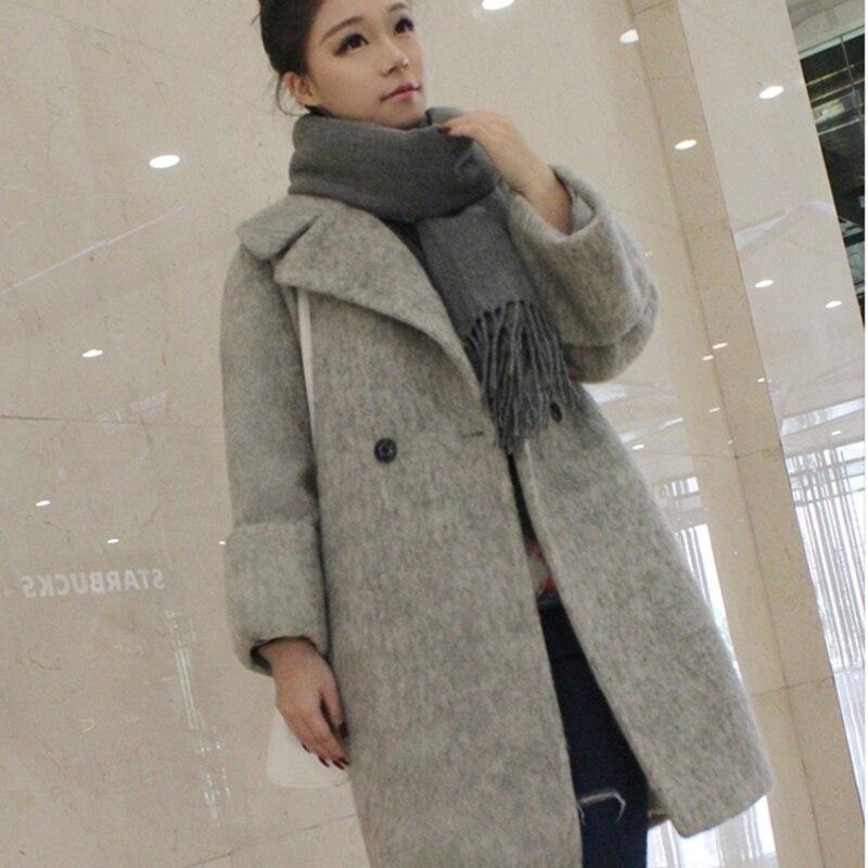 2018 Fashion Teenage Girls Wool Coat Women Cardigan Overcoat Autumn Winter  Women s Coats And Jackets Woolen Coat Female WUJ0676-in Wool   Blends from  ... dee3e07d03