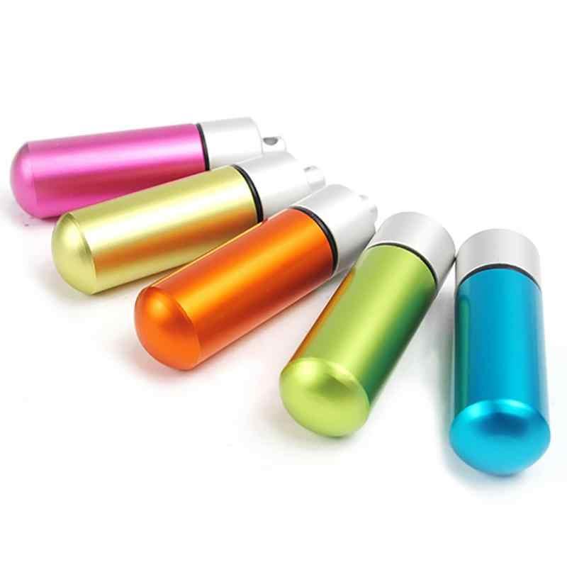 Étui à pilules étanche Cache bouteille médicament EDC porte-outil conteneur porte-clés Camping escalade randonnée voyage sauvetage boîte à médicaments
