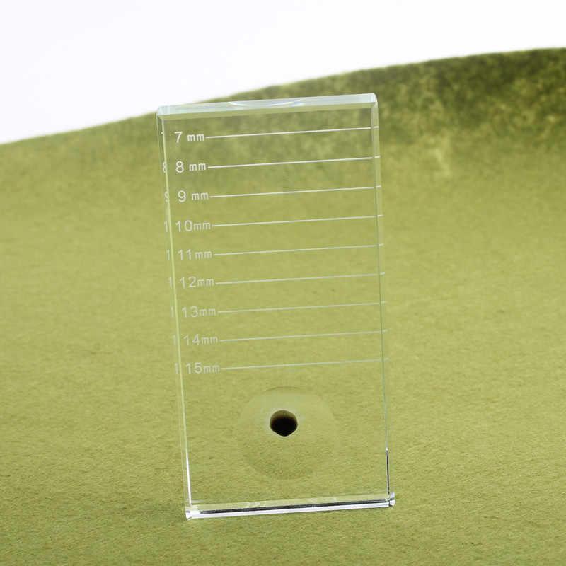 THINKSHOW 1/2/5/10 шт печать кристаллы стеклянные камни для клей для наращивания ресниц для склеивания стенд держатель инструментов для макияжа