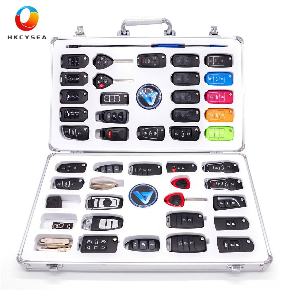KEYDIY Luxury Display Kit Case include 40pcs KD Remote 39pcs B series and 1pc NB11 34pcs