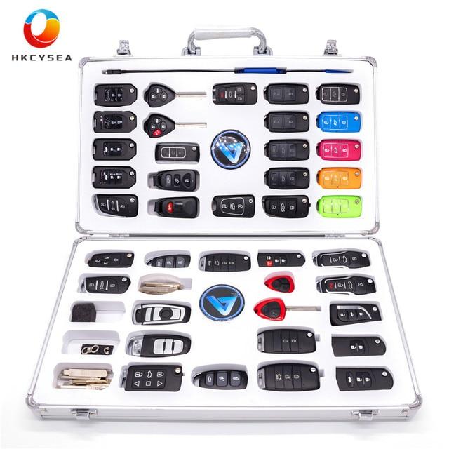 KEYDIY Luxury Display Kit Case include 40pcs KD Remote (39pcs B series and 1pc NB11 ) 34pcs Key Blade and 1pc MINI KD