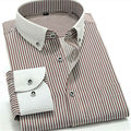 Casual  shirt  men  long Sleeve striped  camisa  Mens shirts  MGQT7012  XXS XS S M L  XL XXL